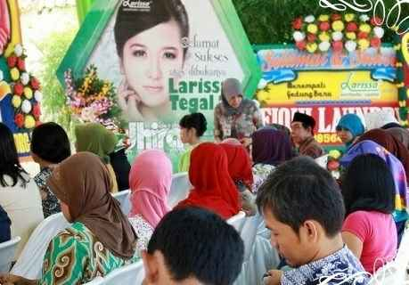 Grand Opening Gerai Larissa Aesthetic Center Tegal 2Gambar 1