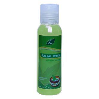 L Facial Wash with Green Tea Extract