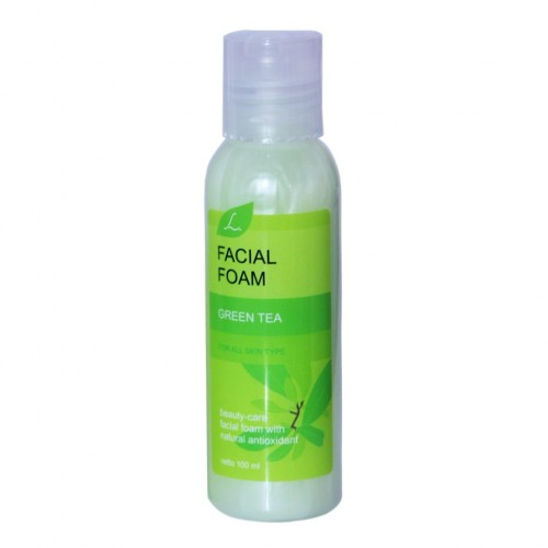 L Facial Foam Green Tea