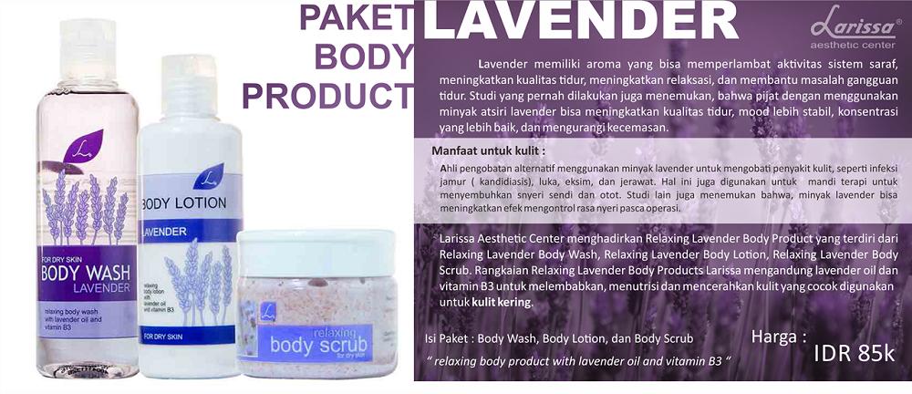 Paket Body Product Lavender