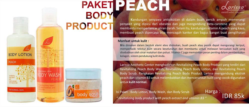 Paket Body Product Peach