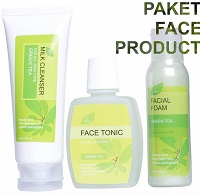 Paket Face Product Green Tea