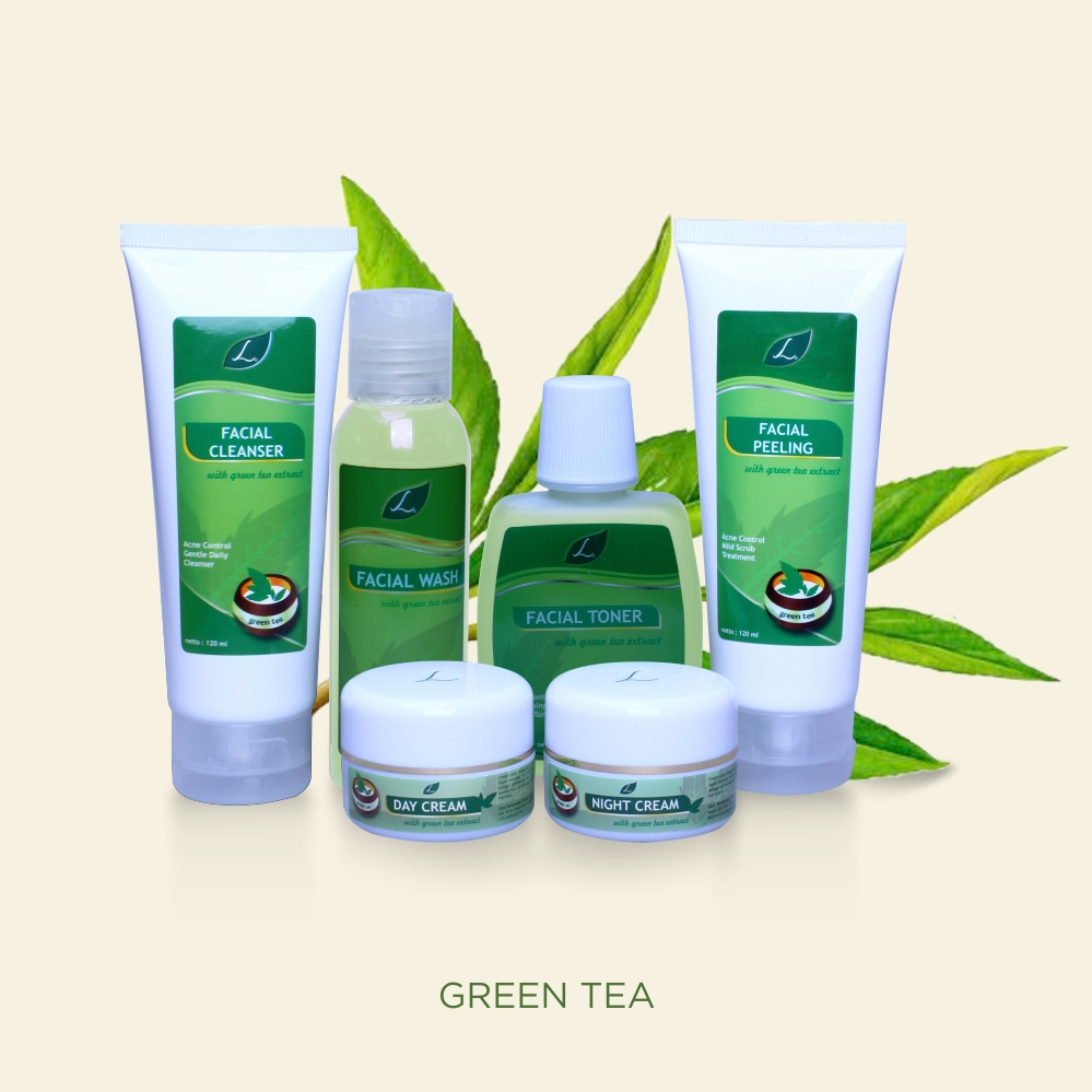 NEW GREEN TEA ACNE CONTROL SERIES